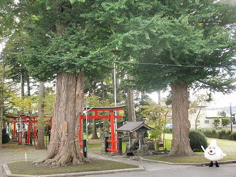 ニンニキュン in 大池神社