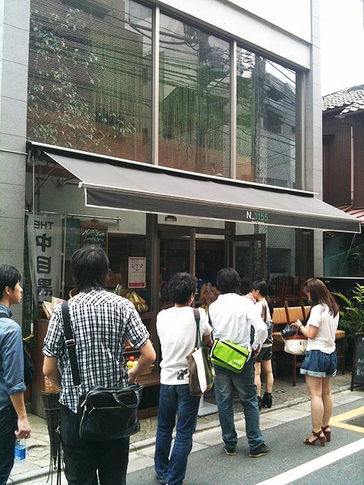 お店外でオープンを待つ参加者のみなさん、ありがとうー!