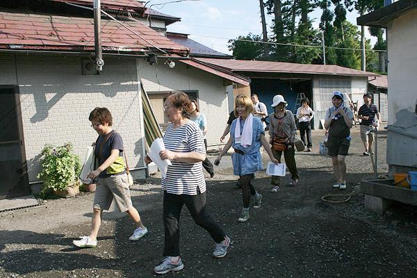 さち子さんプレゼンツ、ひとんちツアー【ニンニク短期留学2011】