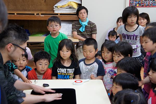被災地である岩手県山田町での活動を紹介